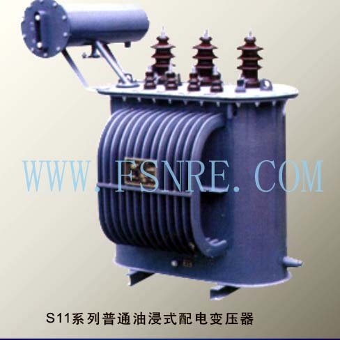 S11 series normal oil-immersed distribution transformer