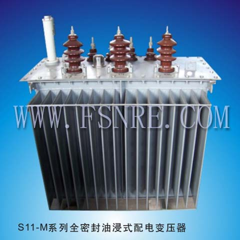 S11-M series fully sealed oil-immersed distribution transformer
