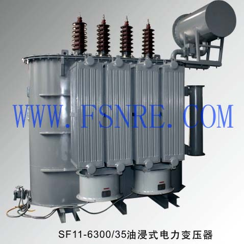 SF11-6300/35 oil-immersed power transformer