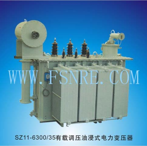 SZ11-6300/35 Oil-immersed power transformer with on-load voltage regulation
