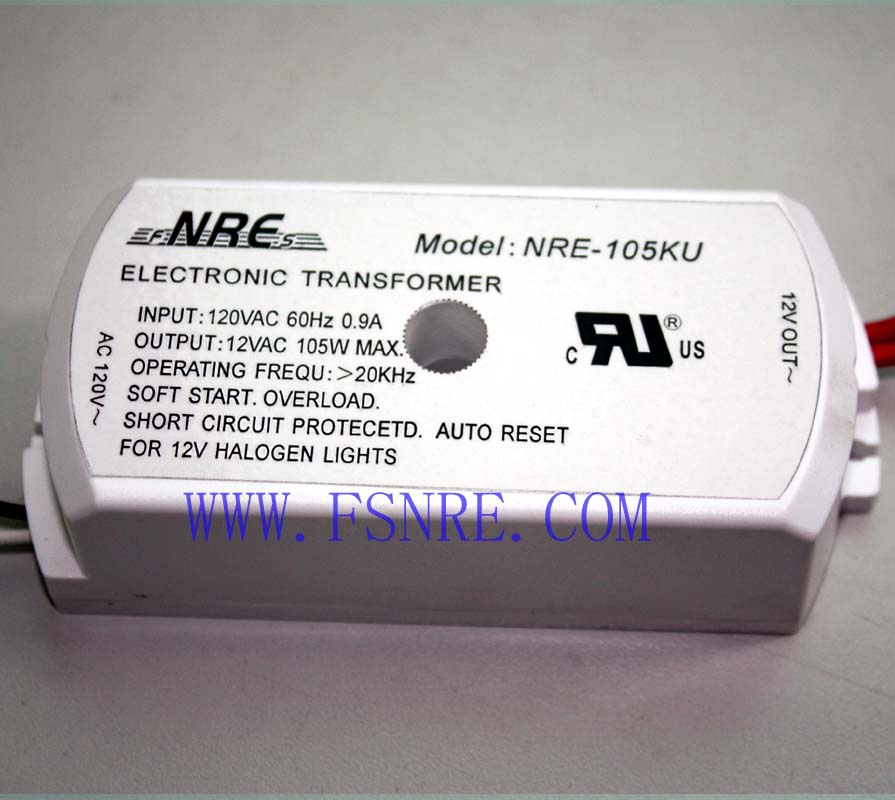 Electronic transformer with American standard(105W)